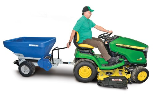 Eco Lawn Tow Behind Compost Spreader Compostwerks