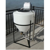 Vortex Compost tea Brewer, GeoTea Liquid Compost Extract Machine