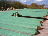 TopTex used in windrows, Compostwerks LLC